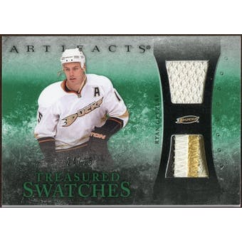 2010/11 Upper Deck Artifacts Treasured Swatches Jersey Patch Emerald #TSRG Ryan Getzlaf /25