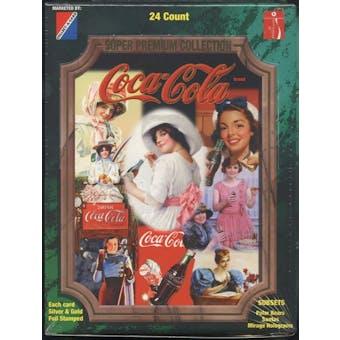 Coca-Cola Super Premium Collection Hobby Box (1995 Collect A Card)