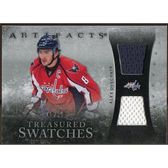 2010/11 Upper Deck Artifacts Treasured Swatches Silver #TSAO Alexander Ovechkin 45/50