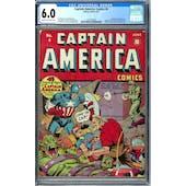 Captain America Comics #4 CGC 6.0 (C-OW) *1617558002*