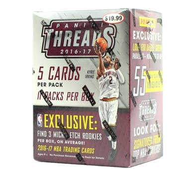 2016/17 Panini Threads Basketball Blaster Box