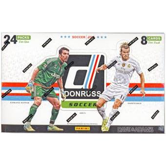 2016/17 Panini Donruss Soccer Hobby Box