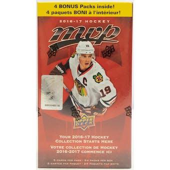 2016/17 Upper Deck MVP Hockey 24-Pack Blaster Box