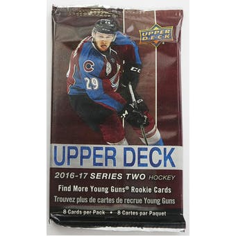 2016/17 Upper Deck Series 2 Hockey Retail Pack