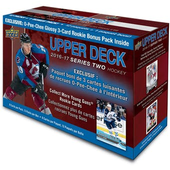 2016/17 Upper Deck Series 2 Hockey Mega Box