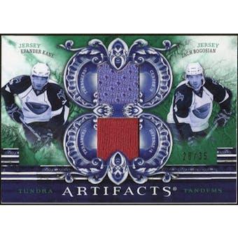 2010/11 Upper Deck Artifacts Tundra Tandems Emerald #TT2ATL Zach Bogosian/Evander Kane 28/35