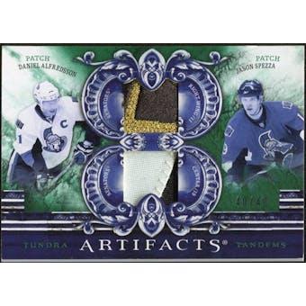 2010/11 Upper Deck Artifacts Tundra Tandems Patches Emerald #TT2OTT Daniel Alfredsson/Jason Spezza 40/40