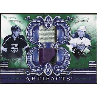 2010/11 Upper Deck Artifacts Tundra Tandems Patches Emerald #TT2KINGD Jack Johnson/Drew Doughty 35/40