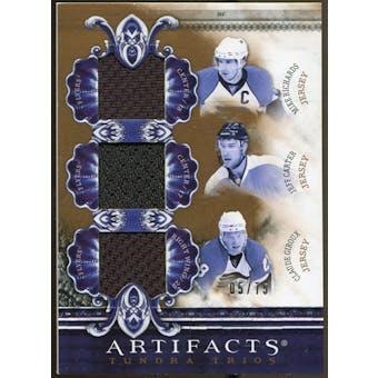 2010/11 Upper Deck Artifacts Tundra Trios Bronze #TT3FLYS Mike Richards/Jeff Carter/Claude Giroux 5/75