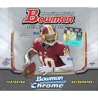 2013 Bowman Football Hobby Box