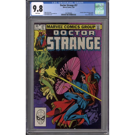 Doctor Strange #57 CGC 9.8 (W) *1621903002*