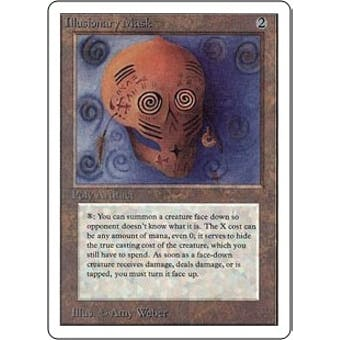 Magic the Gathering Unlimited Single Illusionary Mask - NEAR MINT (NM)