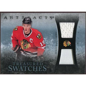 2010/11 Upper Deck Artifacts Treasured Swatches Jersey Patch Blue #TSJT Jonathan Toews /50