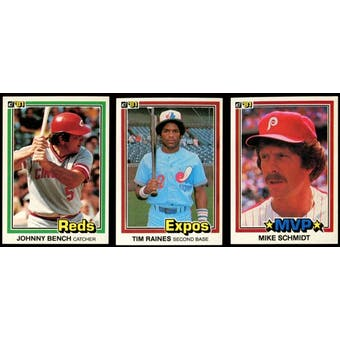 1981 Donruss Baseball Complete Set (NM-MT)
