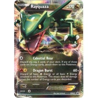 Pokemon Promo Single Rayquaza ex BW47