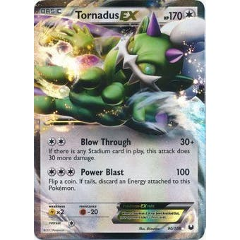 Pokemon Dark Explorers Single Tornadus ex 90/108