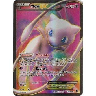Pokemon Dragons Exalted Single Mew EX 120/124 FULL ART - SLIGHT PLAY (SP)