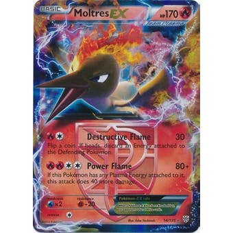 Pokemon Plasma Storm Single Moltres ex 14/135 - NEAR MINT (NM)