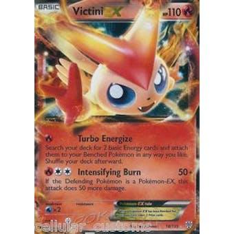 Pokemon Plasma Storm Single Victini ex 18/135