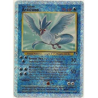 Pokemon Legendary Collection Single Articuno 2/110 - Reverse Holo - NEAR MINT (NM)