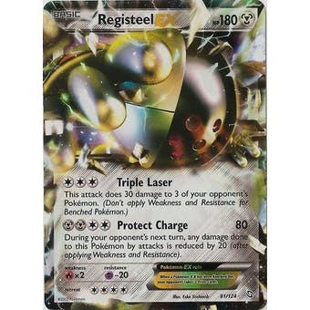 Pokemon Dragons Exalted Single Registeel ex 81/124