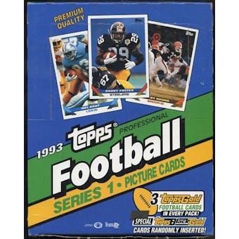 1993 Topps Series 1 Football Rack Box