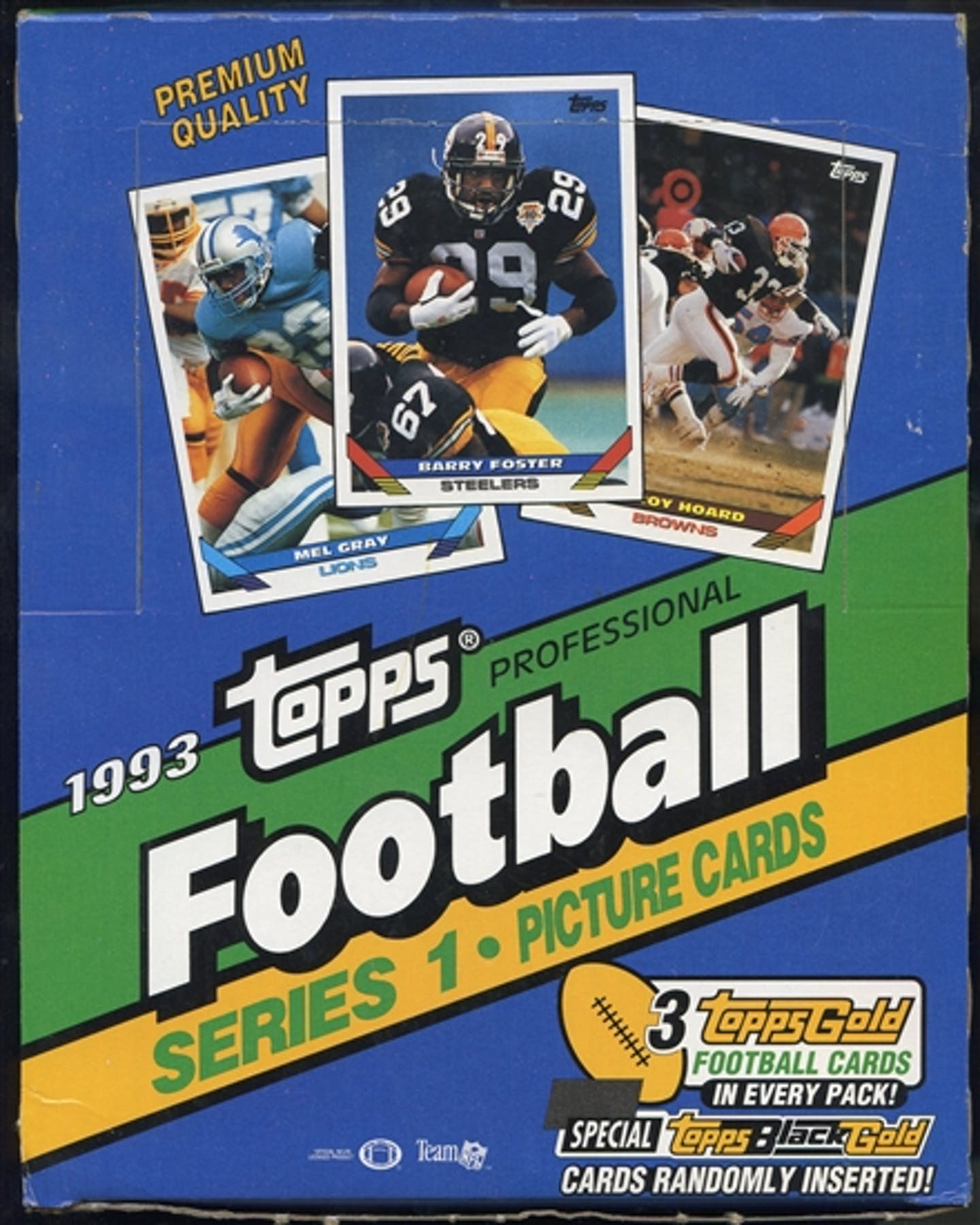 1993 Topps Series 1 Football Rack Box Da Card World