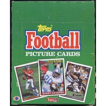 1991 Topps Football Rack Box