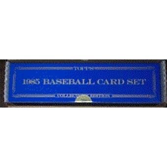 1985 Topps Tiffany Baseball Factory Set