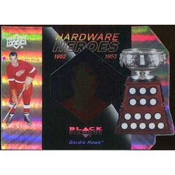 2010/11 Upper Deck Black Diamond Hardware Heroes #HHGH Gordie Howe /100