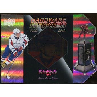 2010/11 Upper Deck Black Diamond Hardware Heroes #HHOV Alexander Ovechkin /100