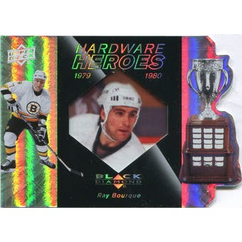 2010/11 Upper Deck Black Diamond Hardware Heroes #HHRB Ray Bourque 94/100