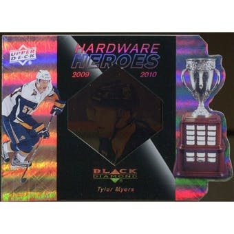 2010/11 Upper Deck Black Diamond Hardware Heroes #HHTM Tyler Myers /100