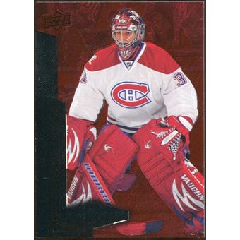 2010/11 Upper Deck Black Diamond Ruby #128 Carey Price /100