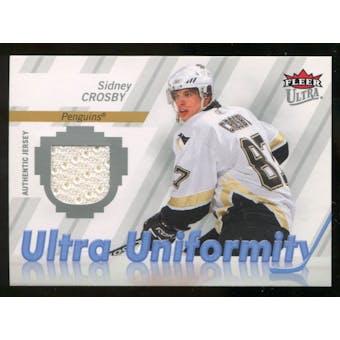 2007/08 Fleer Ultra Uniformity #USC Sidney Crosby