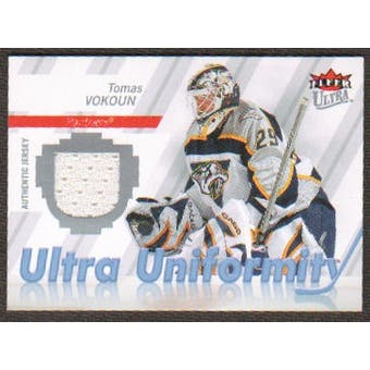 2007/08  Ultra Uniformity #UTV Tomas Vokoun