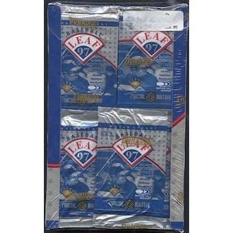 1997 Leaf Baseball Retail Box