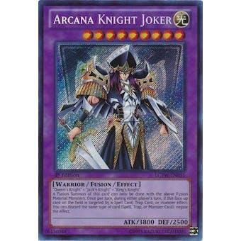 Yu-Gi-Oh Legendary Collection 3 1st Ed. Single Arcana Knight Joker Secret Rare