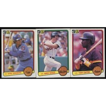1983 Donruss Baseball Near Complete Set (NM)