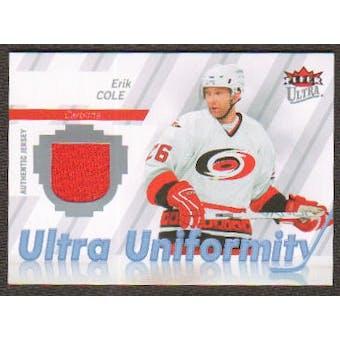 2007/08 Upper Deck Fleer Ultra Uniformity #UEC Erik Cole