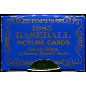 1985 Topps Tiffany Traded Baseball Factory Set