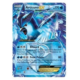 Pokemon Plasma Storm Single Articuno ex 25/135