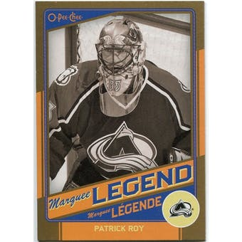 2012/13 Upper Deck O-Pee-Chee Marquee Legends Gold #G3 Patrick Roy