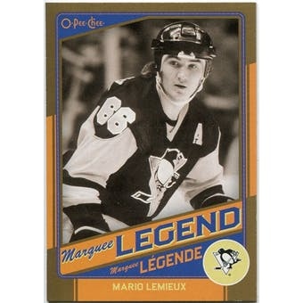 2012/13 Upper Deck O-Pee-Chee Marquee Legends Gold #G9 Mario Lemieux