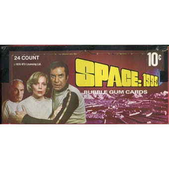 Space: 1999 Wax Box (1976 Donruss)