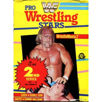 1985 O-Pee-Chee WWF Pro Wrestling Stars - Wrestle Mania 2 Wax Box (Series 2)