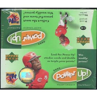 2004 Upper Deck Power Up! Baseball 24 Pack Box