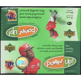 2004 Upper Deck Power Up! Baseball 24 Pack Box