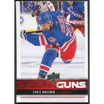 2012/13 Upper Deck #237 Chris Kreider YG RC