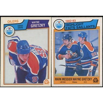 1983/84 O-Pee-Chee Hockey Complete Set (NM-MT)